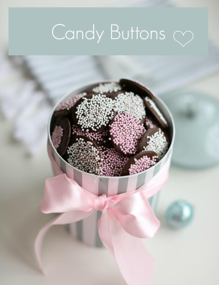 Sjokoladeknapper – Candy Buttons